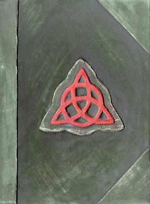 Charmed Book of Shadows Replica by Yirka Marjorie Rodriguez Hardcover Book Free