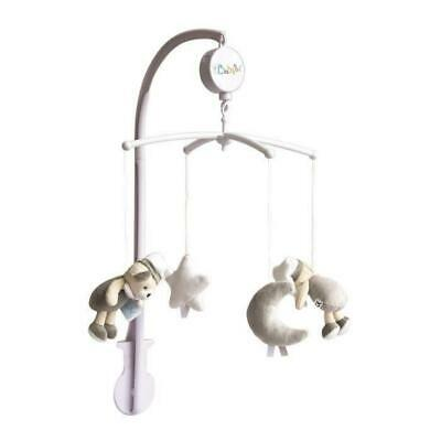 BABY NAT Mobile Musical Les Luminescents - Gris Taupe Babynat