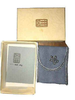 James Avery Sterling Silver Small Spring Butterfly Charm with box