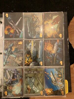 Star Wars Vehicles - Topps Trading Cards Complete Set