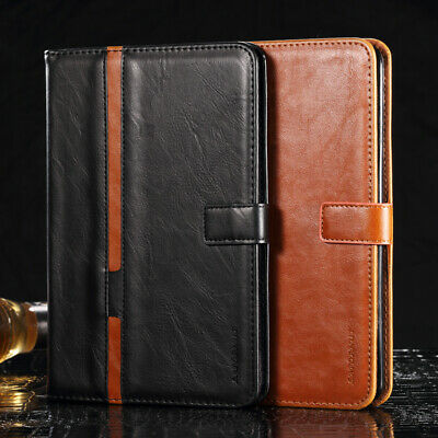 """Vinatge Leather Magnetic Flip Wallet Case Cover For iPad Pro 9.7"""" mini 123 Air 3"""