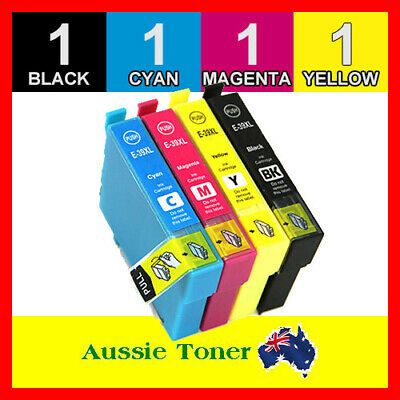 4x Generic Ink Cartridges 39 39XL for Epson Expression Home XP2105 XP4105