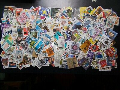 Quality Packet of 500+ Different GB Commemorative Used Stamps~Collection~UK
