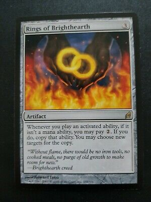 MTG Rings Of Brighthearth Lorwyn. New, never played. Magic the gathering