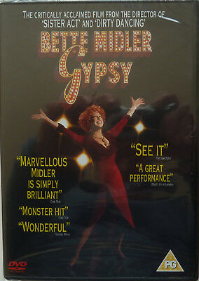 Bette Midler  Gypsy  Sealed Mint Dvd  One Of The Greatest Broadway Scores