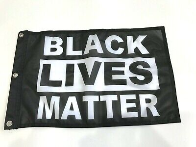 Black Lives Matter 12 x 18 inch  Poly Flag - BLM - Protest flag with Grommets4