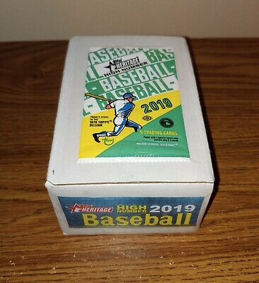 2019 Topps HERITAGE HIGH NUMBER Complete Base Set #501-700 (200) TATIS ALONSO RC