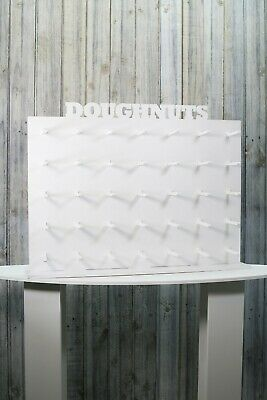 Doughnut Wall Donut Wall White. Holds 35-70 Donuts. 71x53cm Holds 35-70 Donuts