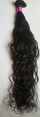 Pure Raw Virgin Remy Indonesian Donor Wavy Weft Hair (THICK HAIR) (UK SELLER)
