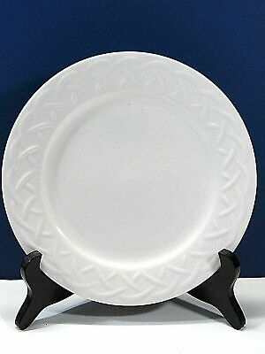 24 Oneida Picnic Embossed Basket Weave 6 Inch Bread and Butter Plates Lot of 24