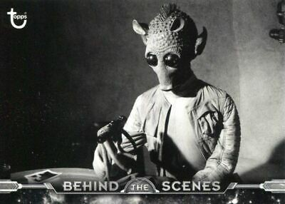 Star Wars ANH Black /& White Behind The Scenes Chase Card BTS-30