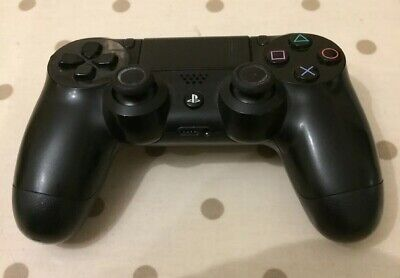 Sony PS4 Playstation Official DualShock 4 Controller V2 - Black Faulty