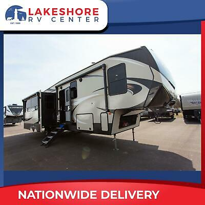 2019 Cougar Fifth Wheel Bunkhouse King Bed 369BHS by Keystone RV Camper Trailer