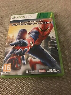 The Amazing Spider-Man (Microsoft Xbox 360, 2012) Used