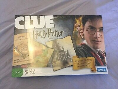 Harry Potter Clue Game Parker Brothers Discover  the Secrets of Hogwarts NEW