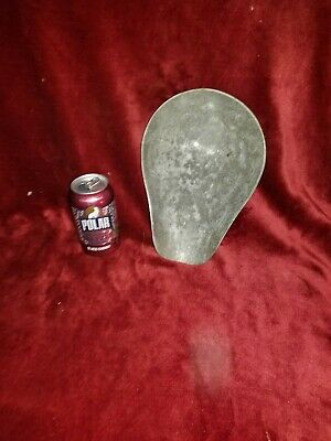 Antique Candy  Scale Pan Scoop  LOOKS LIKE ALUMINUM  NOT BRASS