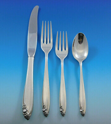 Debutante by Wallace Sterling Silver Flatware Set for 6 Service 25 Pieces