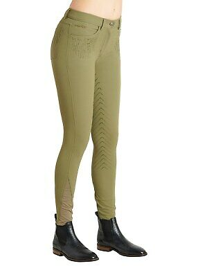 Montar Layla Full Seat Breeches - Light Army