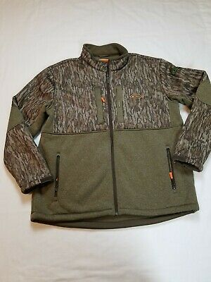 DRAKE NON-TYPICAL SILENCER FULL ZIP JACKET FULL CAMO COAT WITH AGION ACTIVE XL