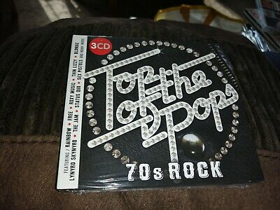 Top of the pops 70s rock  3x cd new sealed