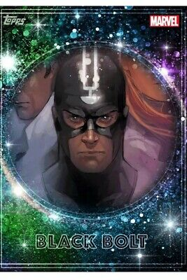 Topps Marvel Collect Trader-Royalty Inhumans - BLACK BOLT (Digital Card)