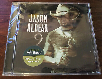 ***BRAND NEW - FACTORY SEALED CD*** 9 by Jason Aldean