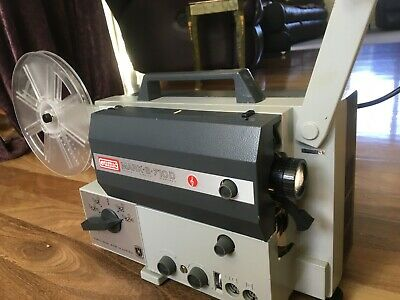 Eumig Mark S 710 D Sound & Film Projector Super 8, Single 8,Standard 8