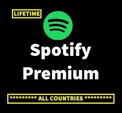 Spotify premium Lifetime upgrade Worldwide 100% warranty all accounts