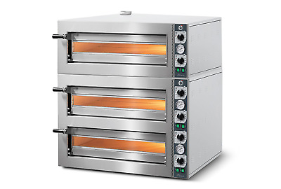 Linda Lewis Cuppone Tiziano Triple Deck Pizza Oven For Pro Kitchen