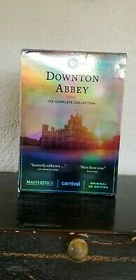 Downton Abbey Complete Series Collection DVD Set All Seasons 1-6 Episodes