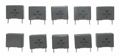 Lot of 10 Metal Polyester Film Capacitor 0.15uF 63V Arcotronics  R82DC3150DQ60K