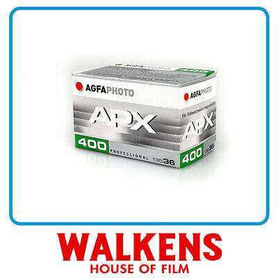 AGFA APX 400 35mm - FLAT-RATE AU SHIPPING!