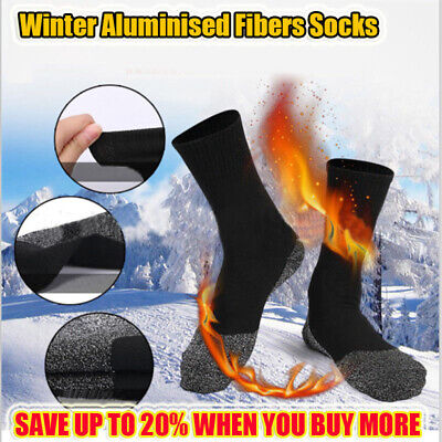 Warm 35 Aluminized Keep Feet Heat Fibers Below Socks Insulation Long Sock Winter