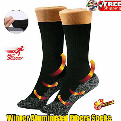 35 Aluminized Fibers Below Socks Winter Keep Feet Heat Insulation Warm Dry Gift