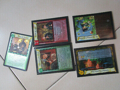Harry Potter Chamber of Secrets camera dei segreti rare Foil TCG CCG lotto stock
