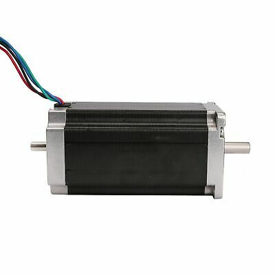 1PC Stepper Motor Nema23 1.8° 4wire 4.2A 435oz-in 2.8Nm Dual shaft 23HS9442B CNC