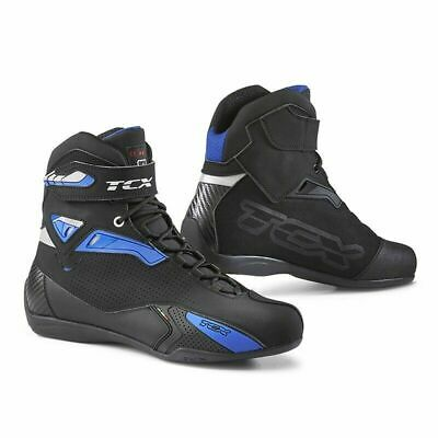 Outlet Scarpa / Stivaletto Moto Tcx Rush Black / Blu