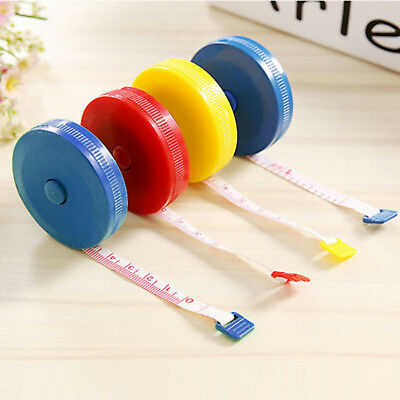 """1.5M 60"""" Measure Tape Line Ruler Soft Retractable Sewing Tailor Great #CF7"""