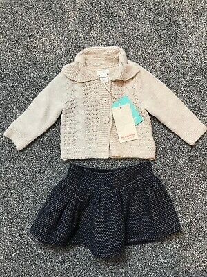 Monsoon Baby Girl Outfit 0/3 months
