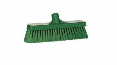 VIKAN Deck Brush Polyester Replacement Sweeping Brush Head Green