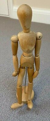 Wooden Manikin Man Mannequin Figure Artist Sketching Sketch Drawing Model