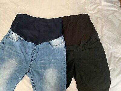maternity clothes size 14 bundle Next jeans And next Work Trousers
