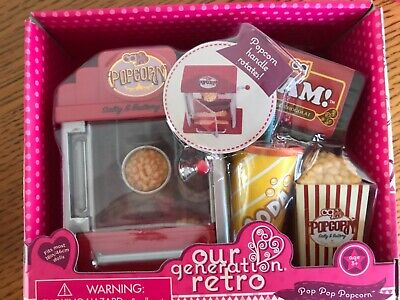 Our Generation Retro Make Me A Milkshake Accessory Set