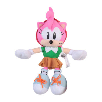 Sonic The Hedgehog Plush Toy Amy Rose Stuffed Animal Rare Cute Holiday Gift 9 In 14 99 Picclick