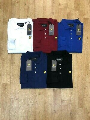 Lyle & Scott Men's Regular Fit Long Sleeve Polo
