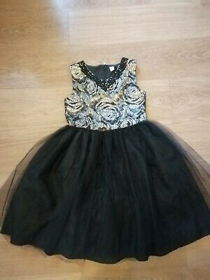 Girls Tu Christmas Party Dress Age 11 Years Worn Once