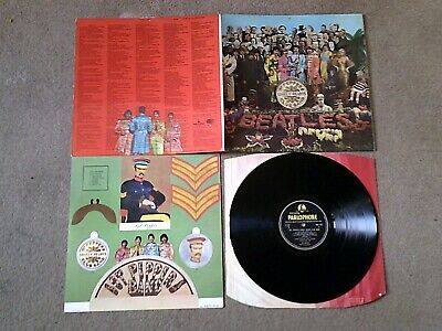 The Beatles - Sgt Pepper - Pmc 7027 - Parlophone - Vg++
