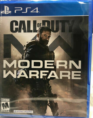 Call of Duty Modern Warfare PS4 Playstation 4 2019 Brand New Factory Sealed!