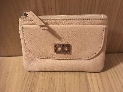 Girls Small Pink Purse From Debenhams 100% Leather