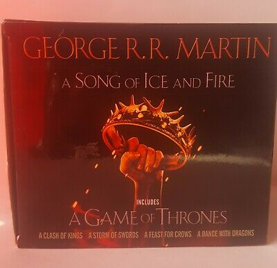 A Game of Thrones Set : 4 Books (missing A Dance With Dragons)